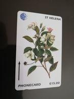 ST . HELENA GPT  The Endemics Of  St HELENA  175CSHE 15 POUND MINT New  Logo C&W **2937** - Sainte-Hélène