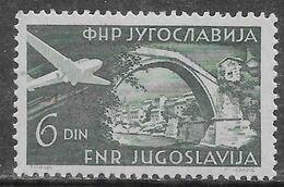 Yugoslavia 1951 Zefiz Exposition Mi N.653 MH * - Neufs