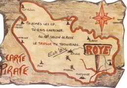 ROYE (Somme) 16° Salon De La Carte Postale Le 10/01/1999 - 500ex - Collector Fairs & Bourses