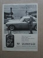 - ADVERTISING PUBBLICITA'  PROFUMI VICTOR (CON FERRARI)  - 1961 - Reclame