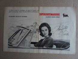 - ADVERTISING PUBBLICITA'  SUPERCORTEMAGGIORE / IN CITTA' MARE MONTAGNA  - 1961 - Reclame