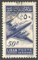 566 Liban 1953 Avion Airplane Lockheed Constellation (LBN-110) - Líbano