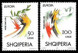 1995Albania 2556-2557Europa Cept6,00 € - 1995