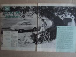 - ARTICOLO D.K.W. JUNIOR FOTO E DATI TECNICI  - 1961 - Reclame