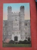 Hand Colored---- Entrance To Medical School  ----------- Duke University North Carolina > Durham > Ref 4270 - Durham