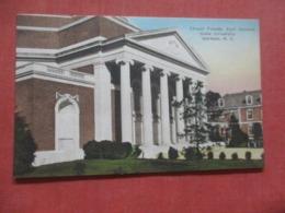 Hand Colored---- Chapel Facade  ---------- Duke University North Carolina > Durham > Ref 4270 - Durham