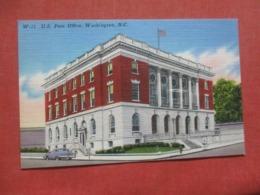 Post Office  Washington   North Carolina   Ref 4270 - Etats-Unis
