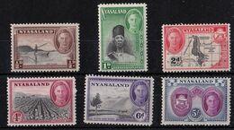 Nyassaland - Mint With Traces Of Hinge Remains - KG VI 1945, Part Set - Nyasaland (1907-1953)