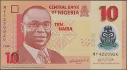 TWN - NIGERIA 39a1 - 10 Naira 2009 Polymer - Prefix MY UNC - Nigeria