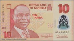 TWN - NIGERIA 39b2 - 10 Naira 2009 Polymer - Prefix UD UNC - Nigeria