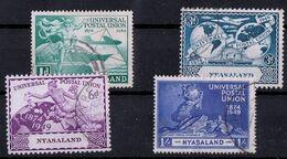 Nyassaland - Used - UPU, 1949 - Nyasaland (1907-1953)