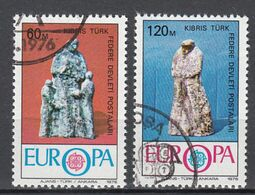 Cyprus(Turkije)  Europa Cept 1976 Gestempeld Fine Used - 1976