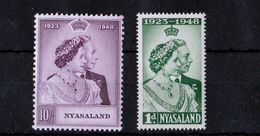Nyassaland - UMM Royal Silver Wedding, 1948 - Nyasaland (1907-1953)