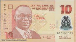 TWN - NIGERIA 39d - 10 Naira 2013 Polymer - Prefix BC UNC - Nigeria