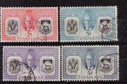 Nyassaland  - Used - 60th Anniversary British Protectorate, 1951 - Nyasaland (1907-1953)