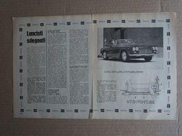 - ARTICOLO POSTA LANCIA : FLAMINIA CONVERTIBILE - 1961 - Reclame