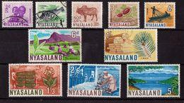 Nyassaland  - Used - Local Motives, 1964 - Nyasaland (1907-1953)