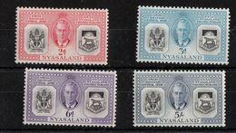 Nyassaland  - Mint With Traces Of Hinge Remains, 60th Anniversary British Protectorate, 1951 - Nyasaland (1907-1953)