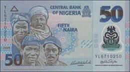 TWN - NIGERIA 40a1 - 50 Naira 2009 Polymer - Prefix YL UNC - Nigeria