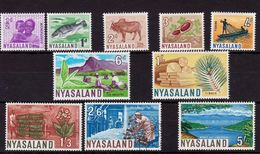 Nyassaland  - Mint With Traces Of Hinge Remains, Local Motives, 1964 - Nyasaland (1907-1953)