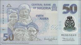 TWN - NIGERIA 40c - 50 Naira 2011 Polymer - Prefix MK UNC - Nigeria