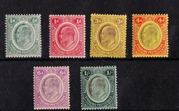 Nyassaland  - Mint With Traces Of Hinge Remains, King Edward VII, 1908 - Nyasaland (1907-1953)