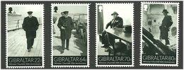 Gibraltar 2015 50th Anniversary Of The Death Of Winston Churchill. Mi 1675-1678 MNH(**) - Gibraltar