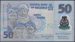 TWN - NIGERIA 40d - 50 Naira 2013 Polymer - Prefix QT UNC - Nigeria