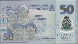 TWN - NIGERIA 40e - 50 Naira 2015 Polymer - Prefix SA UNC - Nigeria