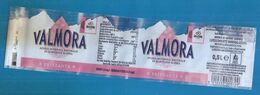 VALMORA ACQUA UFFICIALE GIRO D'ITALIA 2020 0,5 L FRIZZANTE ETICHETTA PLASTICA  ITALY - Otros