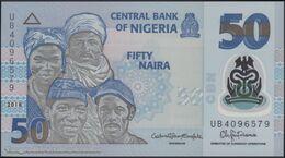 TWN - NIGERIA 40h - 50 Naira 2018 Polymer - Prefix UB UNC - Nigeria