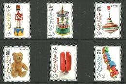 Gibraltar 2015 Historical Toys; Europa: Historical Toys Mi 1686-1691 MNH(**) - Gibraltar