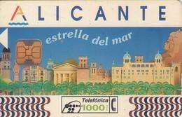 TARJETA TELEFONICA DE ESPAÑA USADA. 05.94 (312). ALICANTE 1000 - Spagna