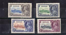 Nyassaland  - Mint With Traces Of Hinge Remains, King George V, Silver Jubilee, 1935 - Nyasaland (1907-1953)