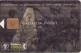 TARJETA TELEFONICA DE ESPAÑA USADA. 11.95 (322). SANTIAGO DE COMPOSTELA - Spagna