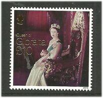 Gibraltar 2015 Queen Elizabeth II - Long-reigning British Monarch Mi 1692 MNH(**) - Gibraltar