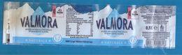 VALMORA ACQUA UFFICIALE GIRO D'ITALIA 2020 0,5 L NATURALE ETICHETTA PLASTICA  ITALY - Otros