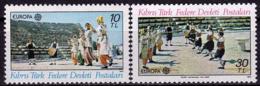 Turquie (Adm.Chypre) - Europa CEPT 1981 - Yvert Nr. 88/89 - Michel Nr. 98/99  ** - Europa-CEPT