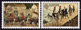 Yougoslavie- Europa CEPT 1981 - Yvert Nr. 1769/1770 - Michel Nr. 1883/1884  ** - Europa-CEPT