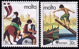Malte - Europa CEPT 1981 - Yvert Nr. 616/617 - Michel Nr. 628/629  ** - Europa-CEPT