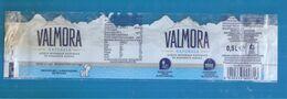 VALMORA ACQUA  0,5 L NATURALE ETICHETTA PLASTICA  ITALY - Otros