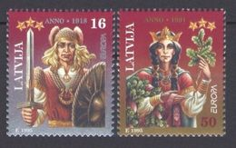 1995Latvia414-415Europa Cept4,00 € - 1995