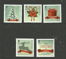Gibraltar 2015 Christmas Mi 1708-1712  MNH(**) - Gibraltar