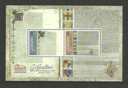 Gibraltar 2015 800th Anniversary Of The Declaration Of The Magna Carta. Mi Bloc 123  MNH(**) - Gibraltar