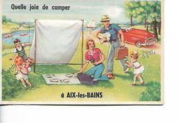 Carte à Système - AIX LES BAINS - Quelle Joie De Camper - Mechanical