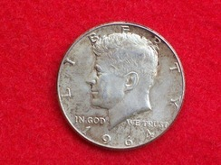 U.S.A. UNITED STATES RARE HALF DOLLAR 1964 KENNEDY - Autres