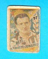 ENGLAND - NEWCASTLE UNITED FC - BETI ... Yugoslav Original Vintage Football Card 1960's * Soccer Fusball Calcio British - Trading Cards