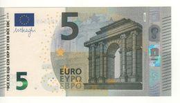 "5 EURO  ""Belgio""     DRAGHI    Z 006 F2    ZB4569493407  /  FDS - UNC - EURO"