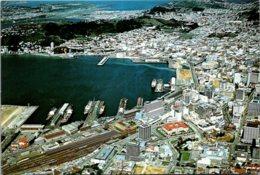 New Zealand Wellington City Aerial View - Neuseeland