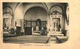 88 - LE CLERJUS - Intérieur De L'Eglise - Francia